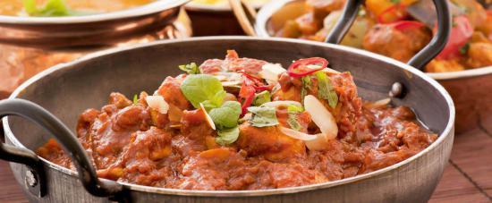 Food at Pakka an Indian Restaurant & Takeaway in Cambridge